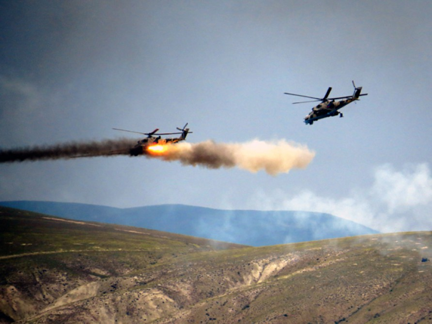 Battlefield shooting stage of Azerbaijan-Turkey joint tactical exercises underway VIDEO