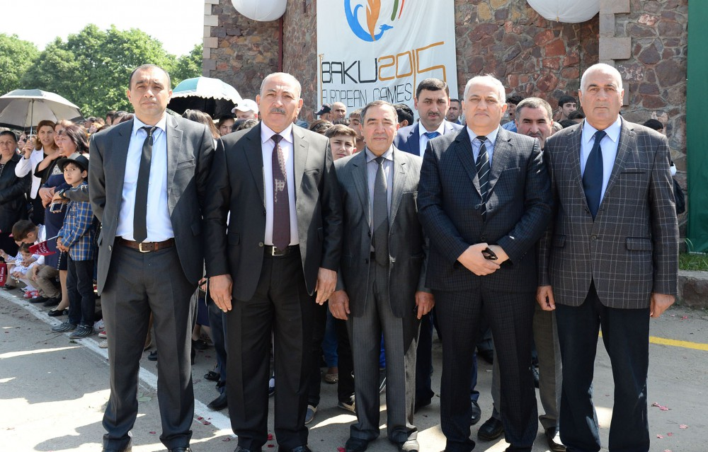 Tovuz welcomes Flame of First European Games VIDEO