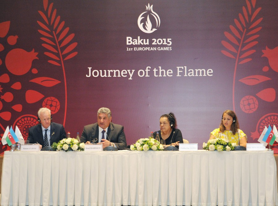Baku 2015 making its mark VIDEO