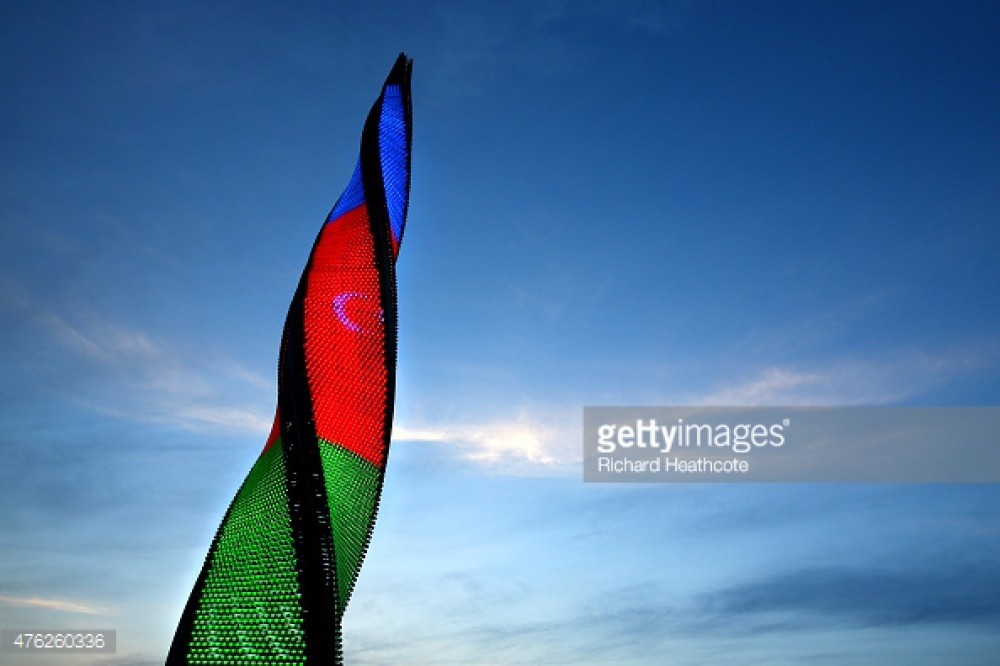 Baku 2015 photo session on Getty Images VIDEO