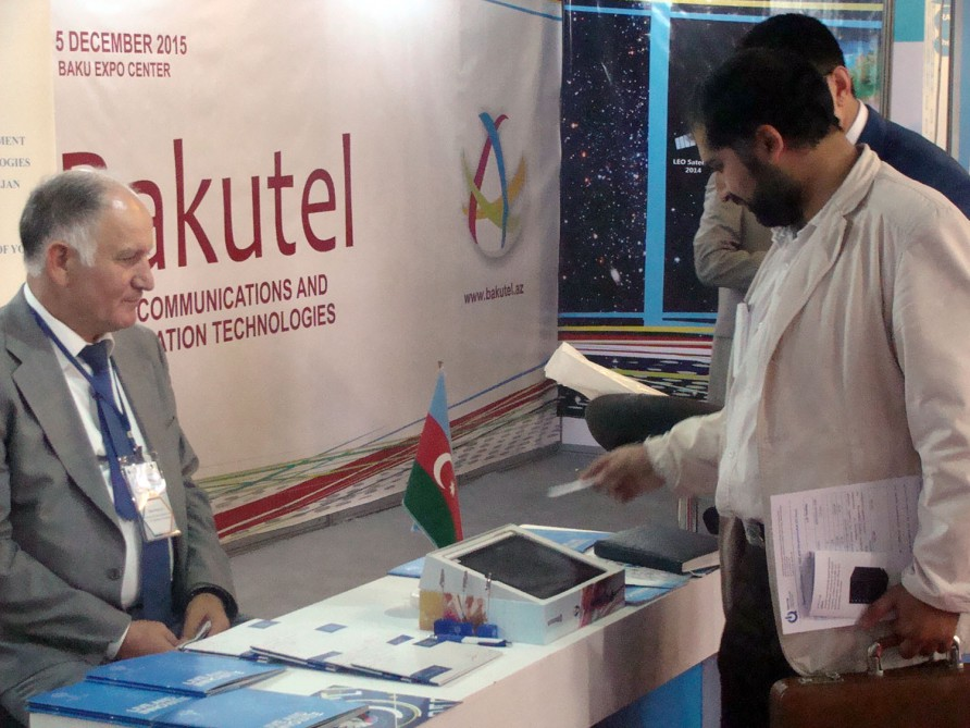 Azerbaijani delegation attends the International Innovation and Technology Exhibition (INOTEX 2015) in Tehran