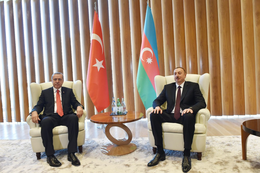 President Ilham Aliyev met with Turkish President Recep Tayyip Erdogan VIDEO