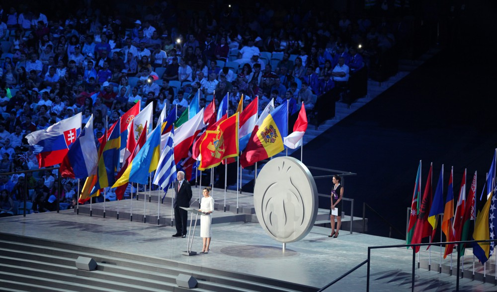 The First European Games opened with a spectacular showPresident Ilham Aliyev declared the Games open VIDEO
