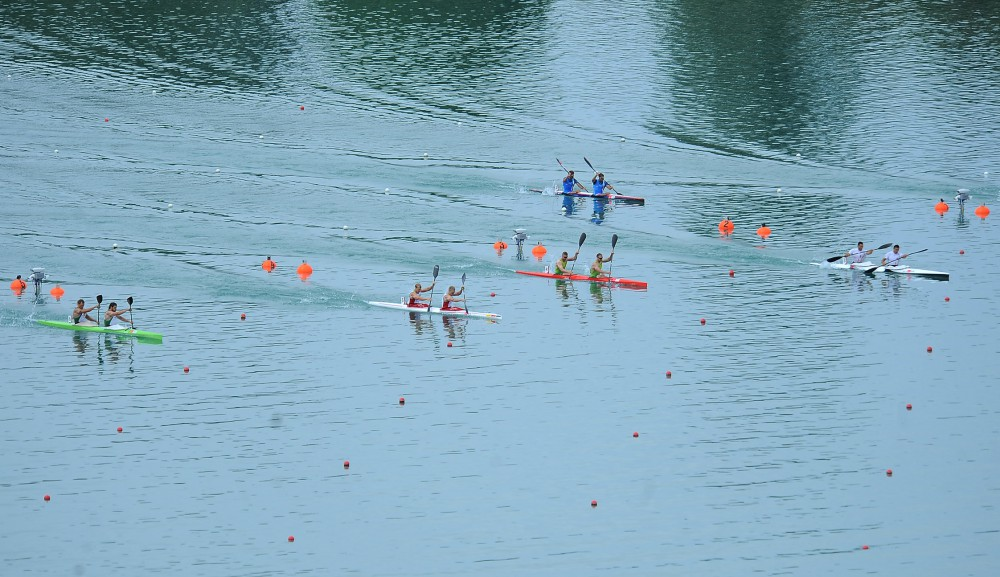 Germany and Hungary share first canoe sprint medals in European Games