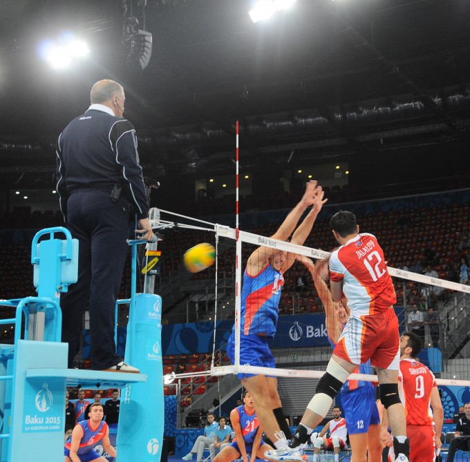 Bulgaria beat Italy to maintain 100% Volleyball record