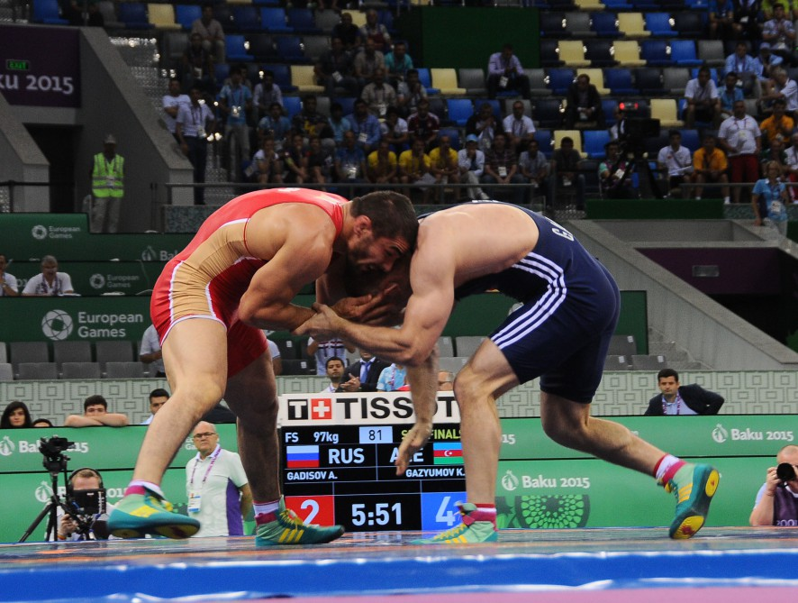 Hasanov adds freestyle wrestling bronze to Azerbaijan`s medal tally