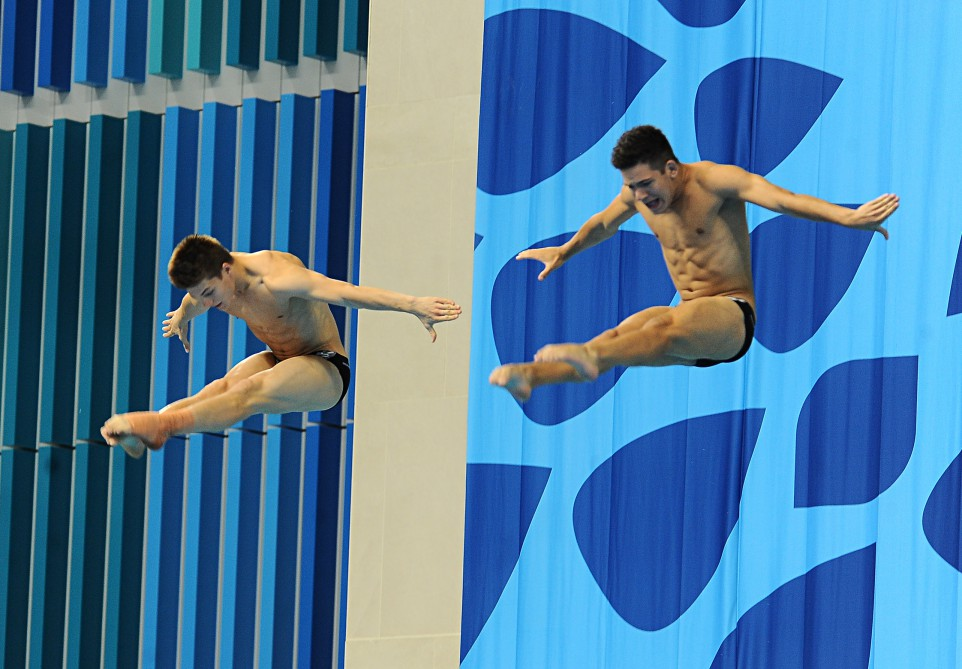 Russian pair in perfect harmony to claim diving gold