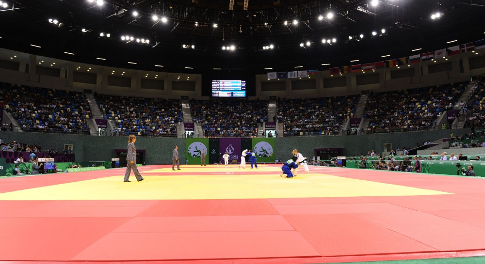 Azerbaijani judo fighter Orkhan Safarov grabs silver medal at First European Games