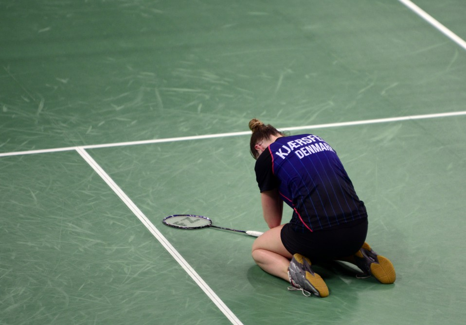 Danish cool no match for Spanish power in badminton