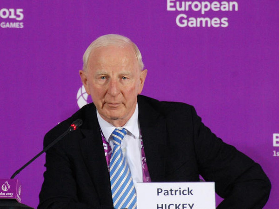 Patrick Hickey: Sports facilities you have created here will serve athletes, communities and young people for years to come VIDEO