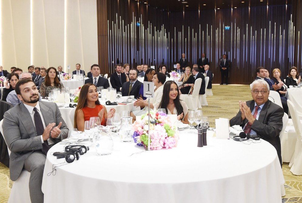 President Ilham Aliyev attended the award ceremony on the occasion of the First European Games VIDEO
