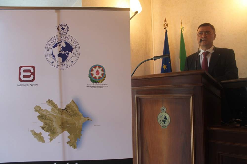 Azerbaijan`s culture and economy highlighted at Rome conference VIDEO