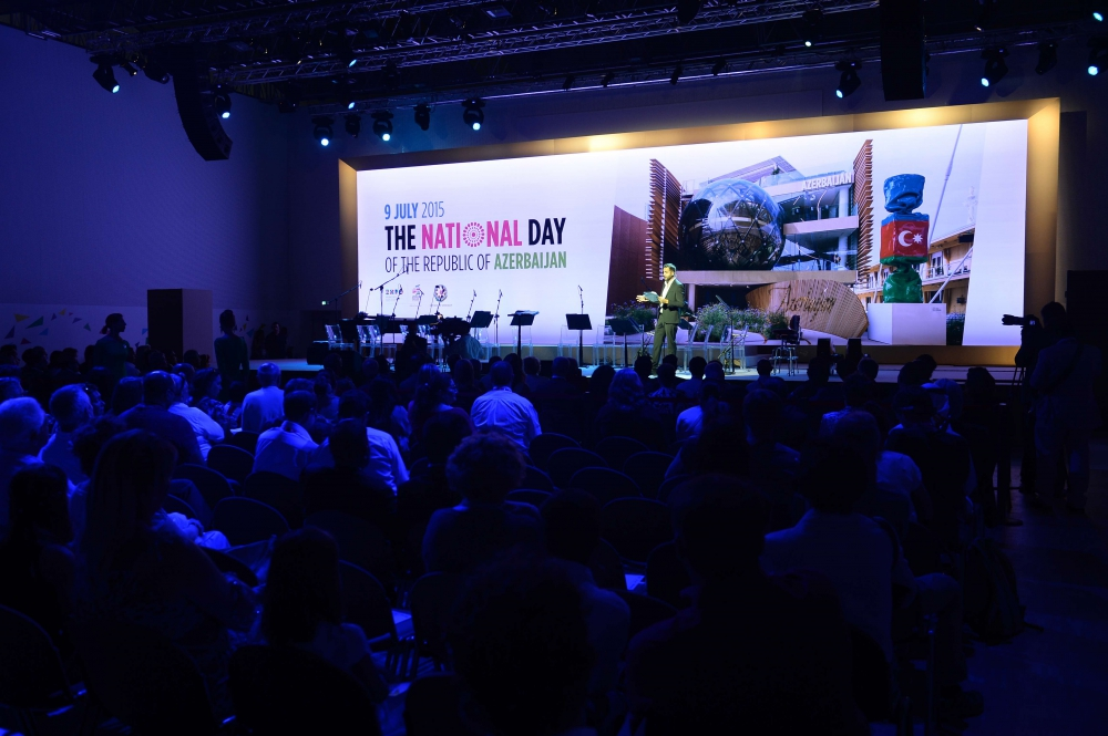 "Heydar Aliyev Foundation holds concert within Azerbaijan ""National Day"" in the ""Expo Milano 2015"""