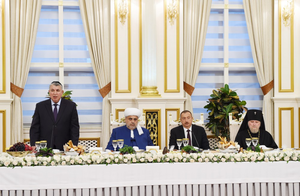 President Ilham Aliyev attended the Iftar ceremony on the occasion of the holy month of Ramadan VIDEO