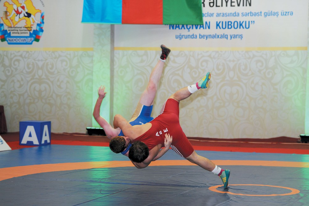 Nakhchivan Cup wrestling tournament wraps up