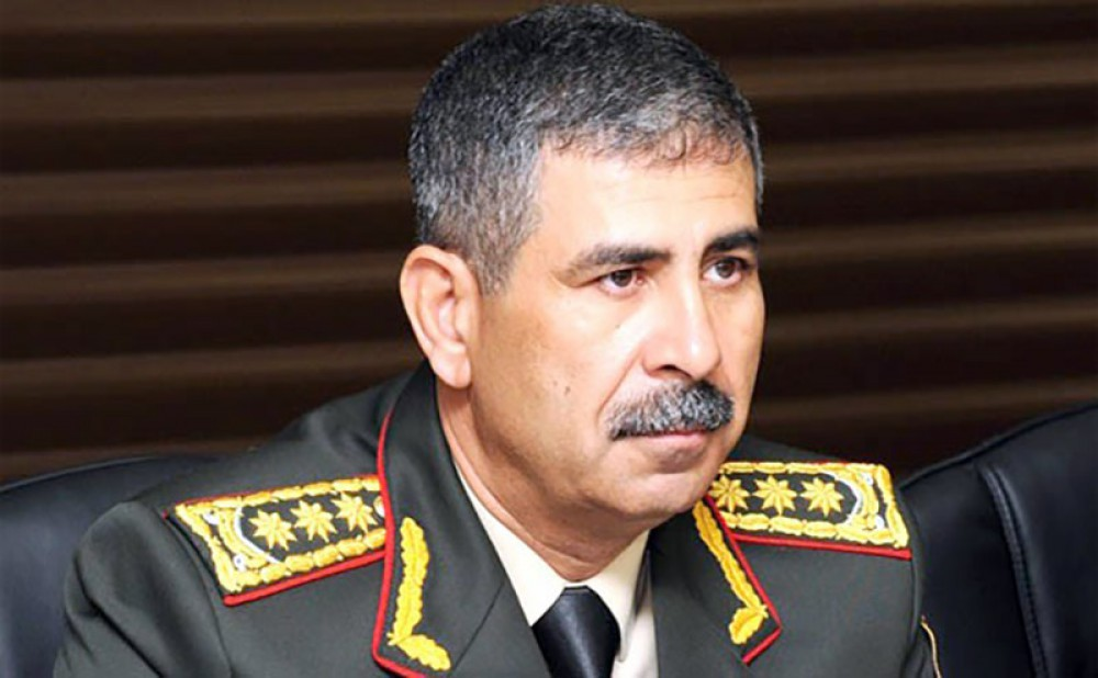 Azerbaijan`s Defence Minister visits Russia
