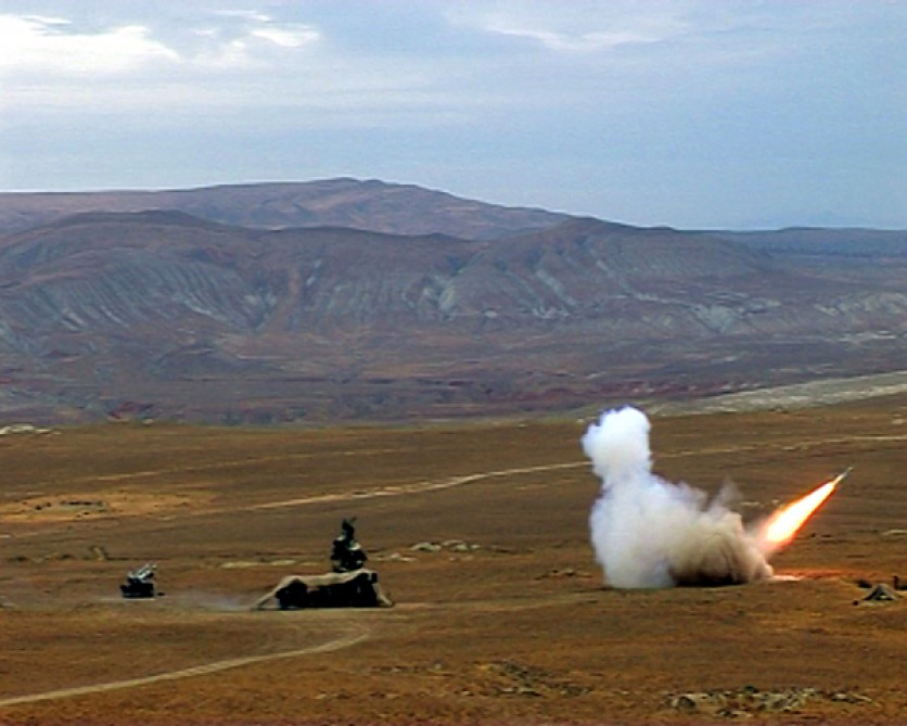 "Azerbaijani-Turkish Air Forces carry out live-fire exercises within ""TurAz Falcon – 2015"" VIDEO"