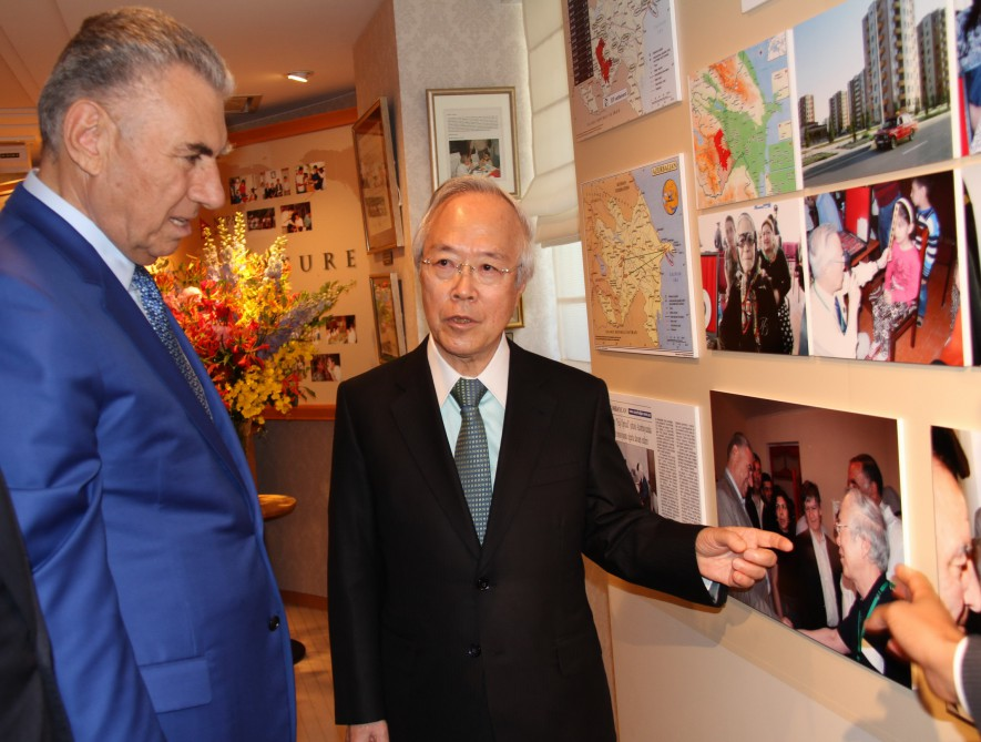 Deputy PM: Fuji Optical's activity in Azerbaijan is an example of humanity and generosity VIDEO