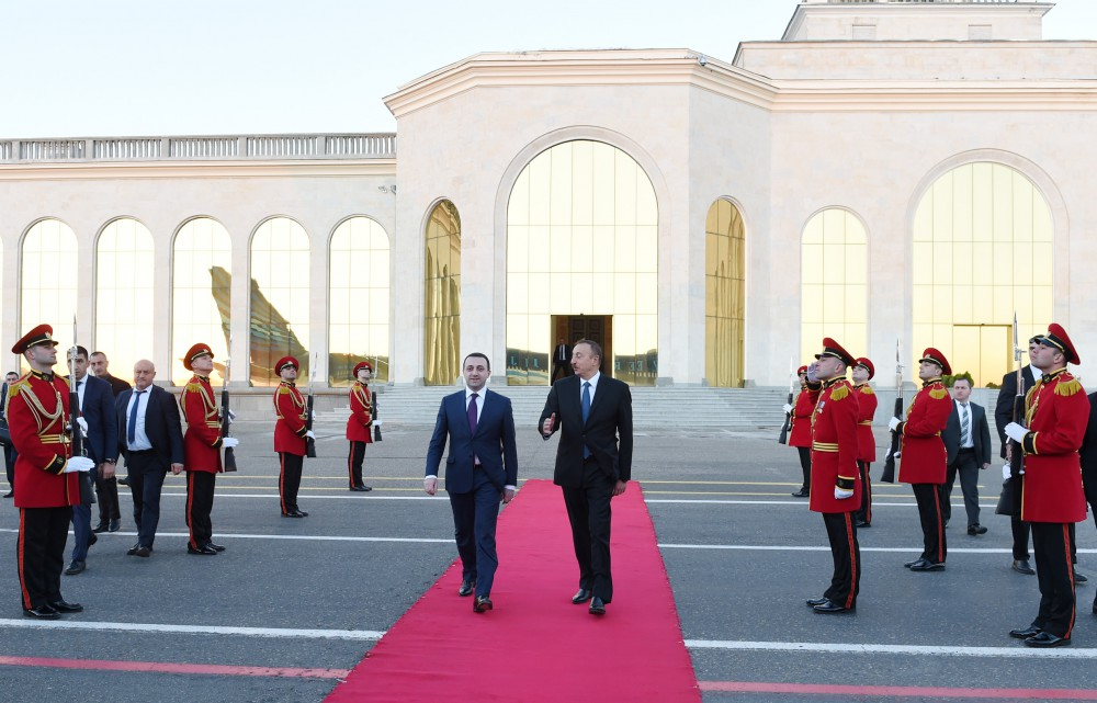 President Ilham Aliyev ended his official visit to Georgia  VIDEO