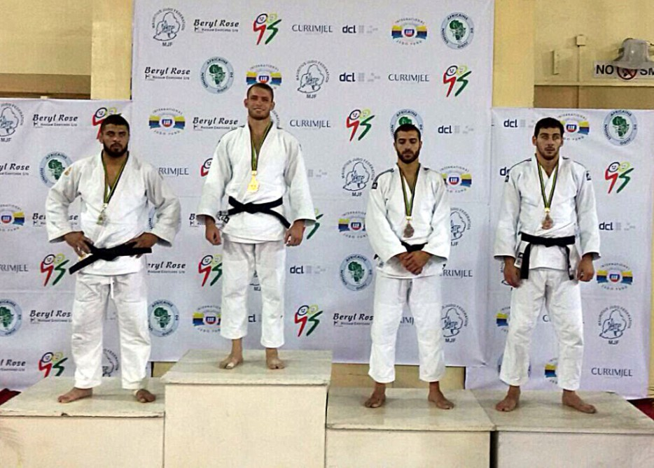 Azerbaijan add three medals to their haul at African Open judo tournament