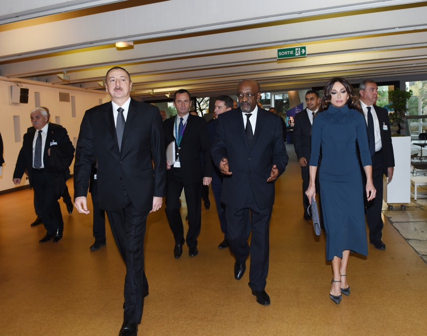 President Ilham Aliyev attended the Leaders' Forum of the 38th Session of UNESCO General Conference VIDEO