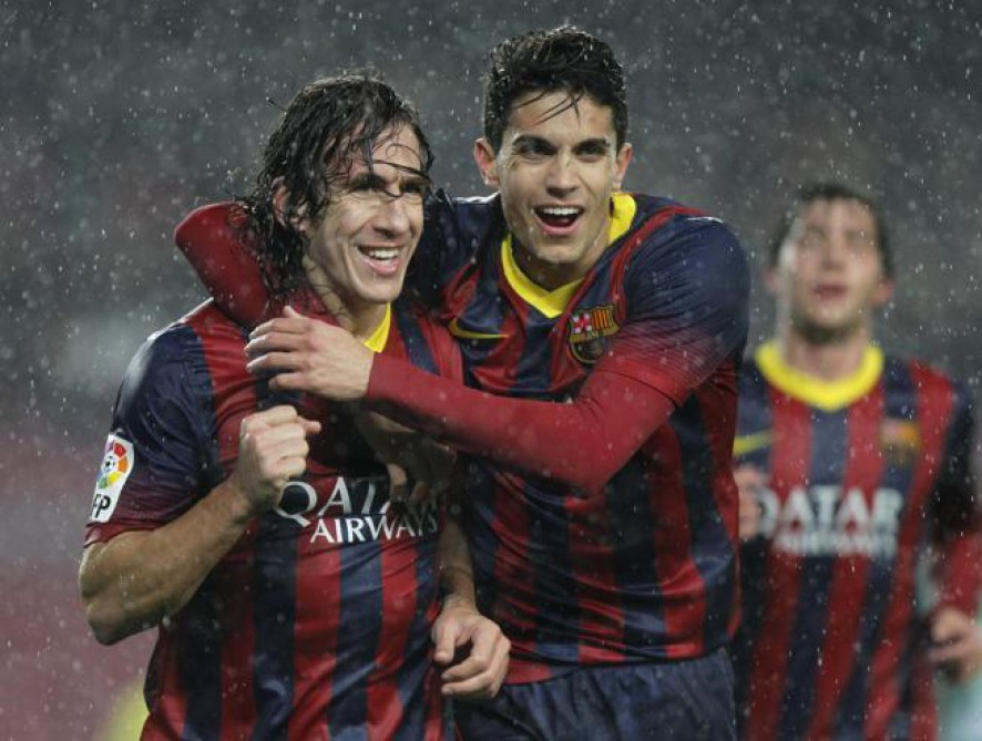 Carles Puyol becomes Marc Bartra agent amid Manchester United potential interest