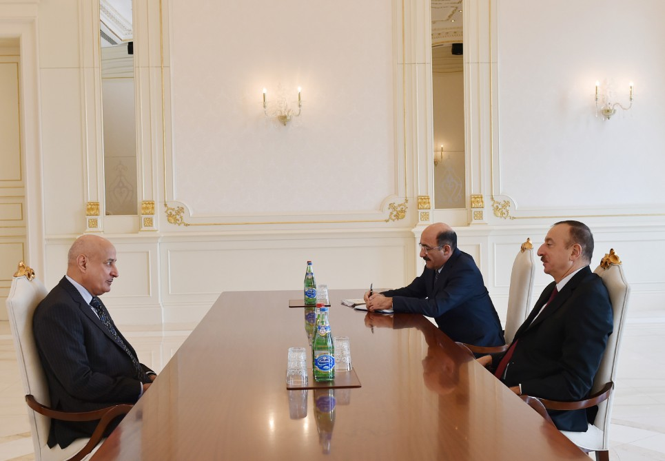 President Ilham Aliyev received the ISESCO Director General VIDEO