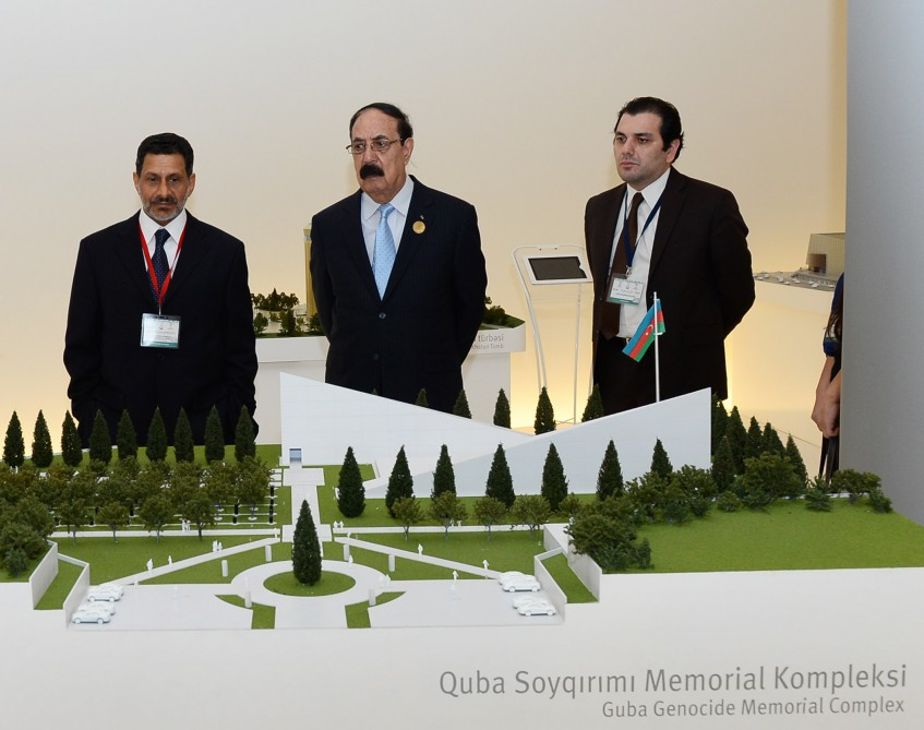 Participants of 12th session of ISESCO General Conference visit Heydar Aliyev Centre