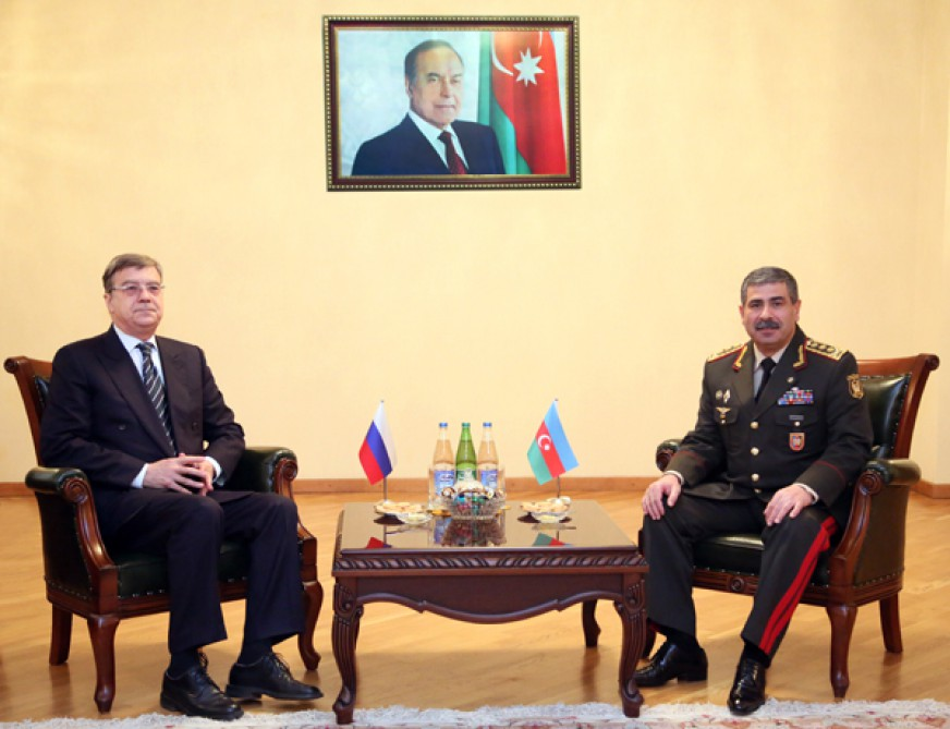 Azerbaijan, Russia discuss military cooperation
