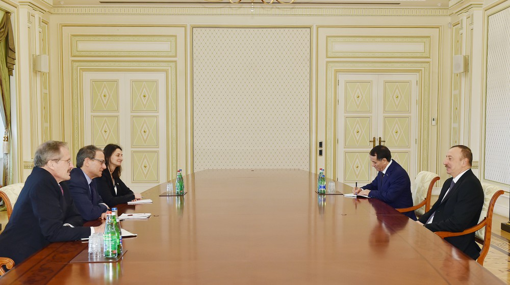 President Ilham Aliyev received the Senior Director for European Affairs at the US National Security Council VIDEO