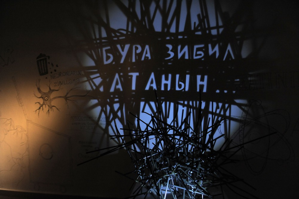 "YAY Gallery hosts ""Something From Nothing"" solo exhibition by Rashad Alakbarov"