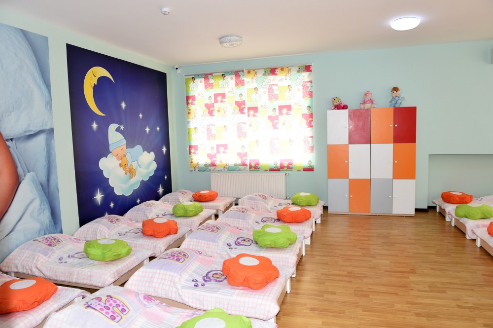 President Ilham Aliyev attended the opening of 240-seat orphanage-kindergarten in Ganja after major overhaul VIDEO