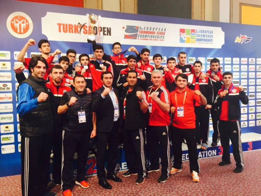 Azerbaijani taekwondo fighters win 4 medals at European Clubs Championships