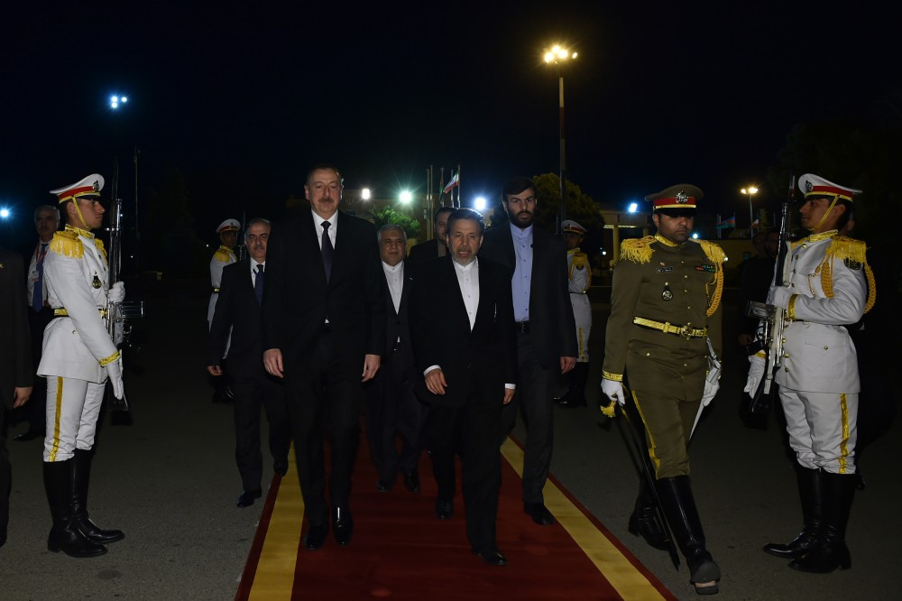 President Ilham Aliyev completed his official visit to Iran VIDEO