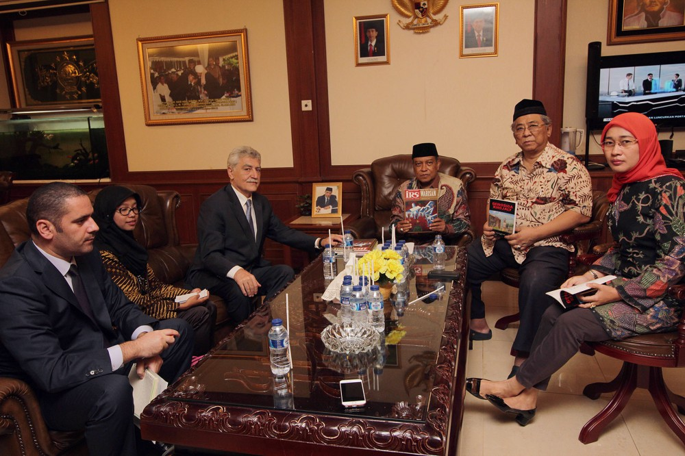 Azerbaijan`s Ambassador meets Head of Indonesian Nahdlatul Ulama Organization