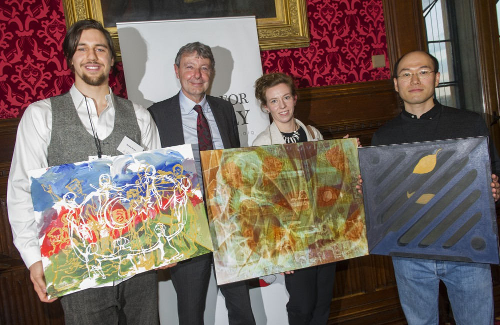 Artistic representations of the killing fields of Khojaly exhibited in UK Parliament