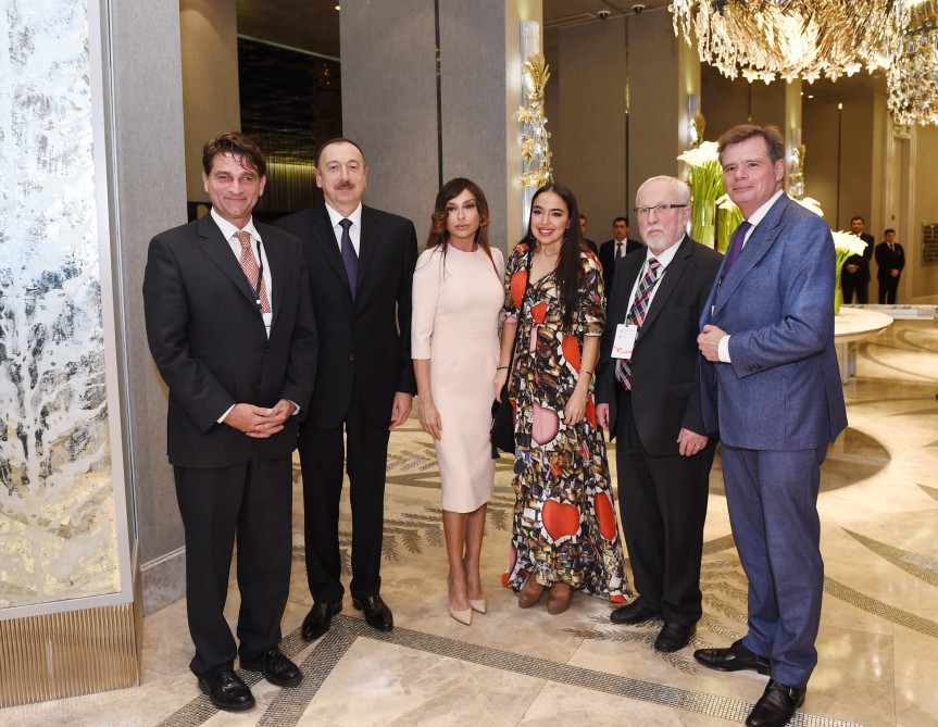 President Ilham Aliyev hosted dinner reception in honor of participants of the 4th Global Baku Forum VIDEO