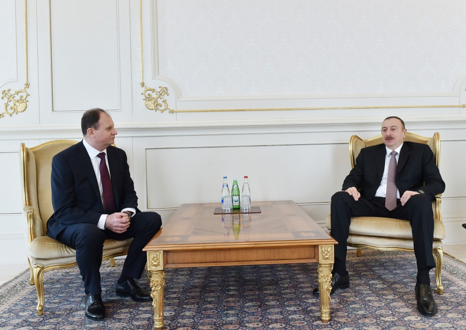 President Ilham Aliyev received credentials of incoming Moldovan Ambassador VIDEO