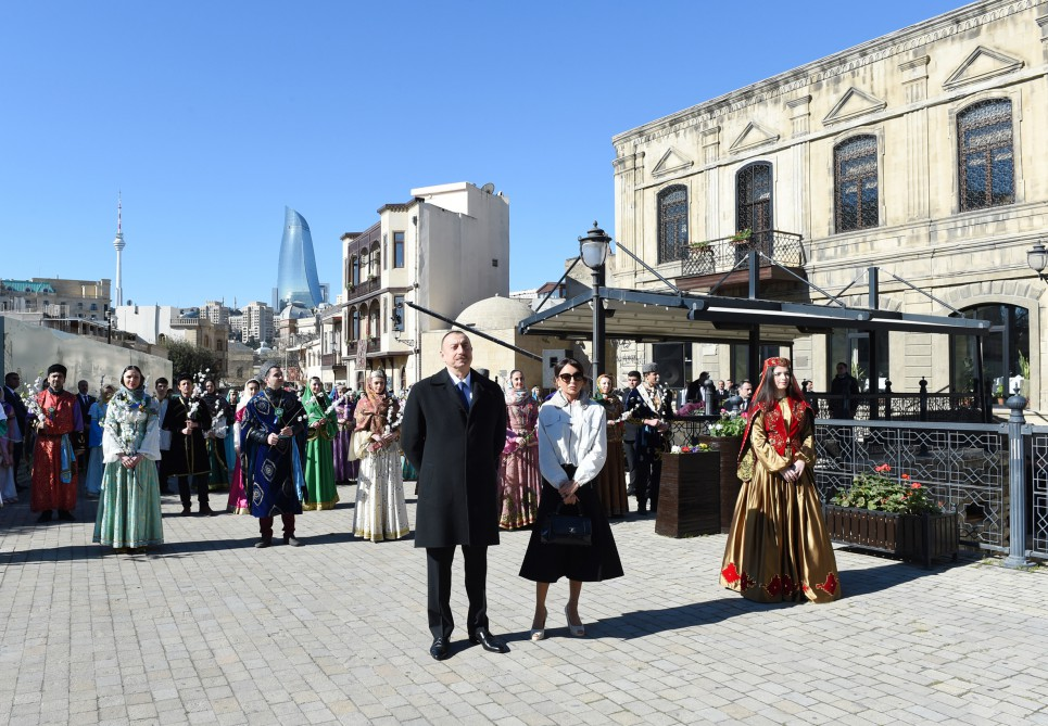 President Ilham Aliyev joined nationwide festivities on the occasion of Novruz holidayVIDEO