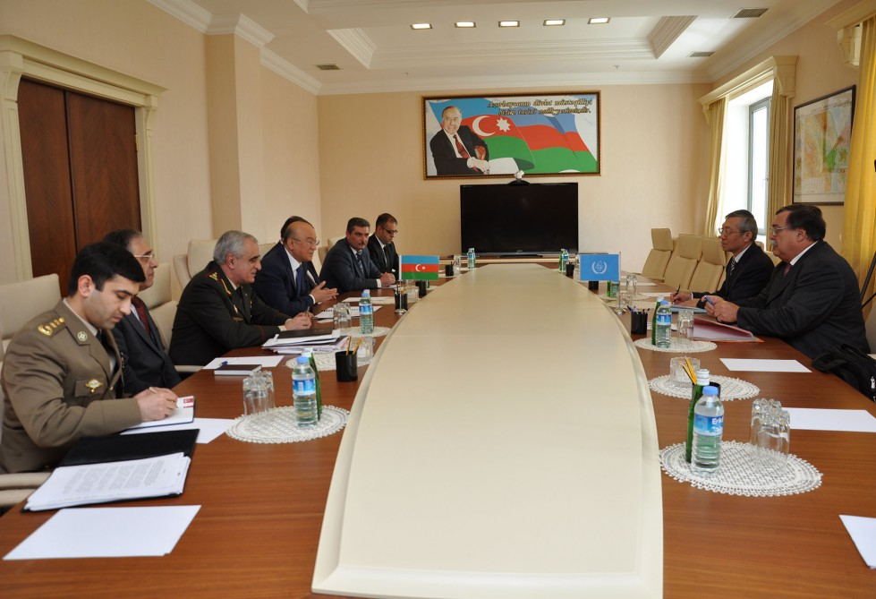 Azerbaijan`s Minister of Emergency Situations meets Deputy Director of International Atomic Energy Agency