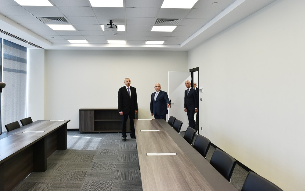 President Ilham Aliyev attended the opening of second bus depot of Bakubus LLC VIDEO