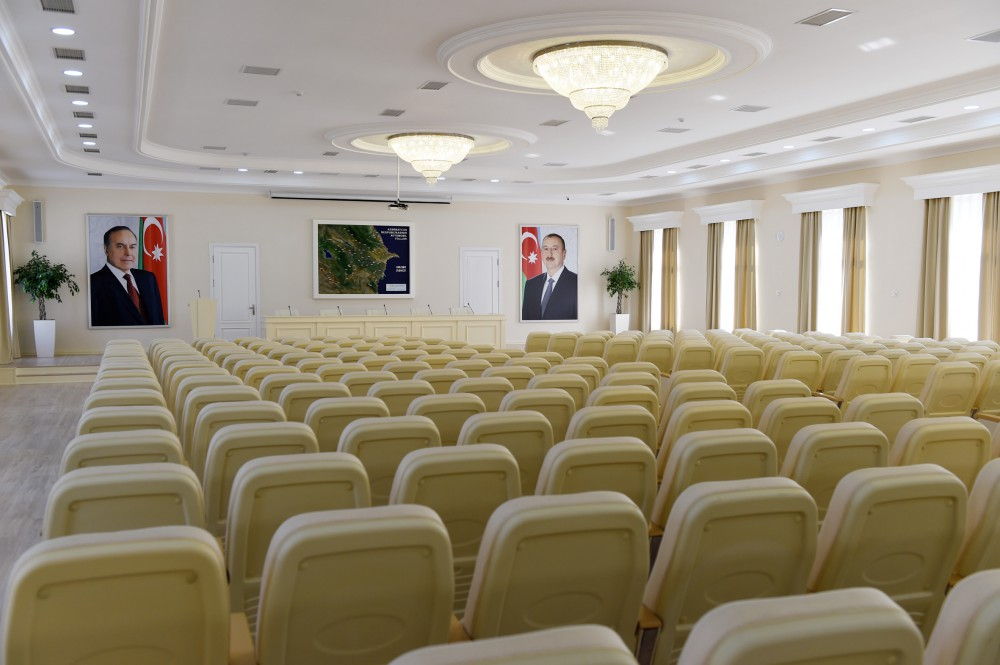 President Ilham Aliyev attended opening of new administrative building of Azeravtoyol OJSC VIDEO