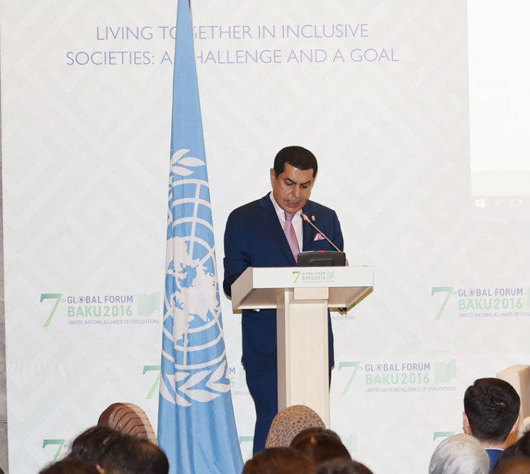 UN High Representative for Alliance of Civilizations: Youth and media are particularly key actors in moving forward to the goal of inclusive societies