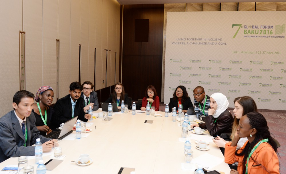 Youth stress vision of inclusive society at UN forum