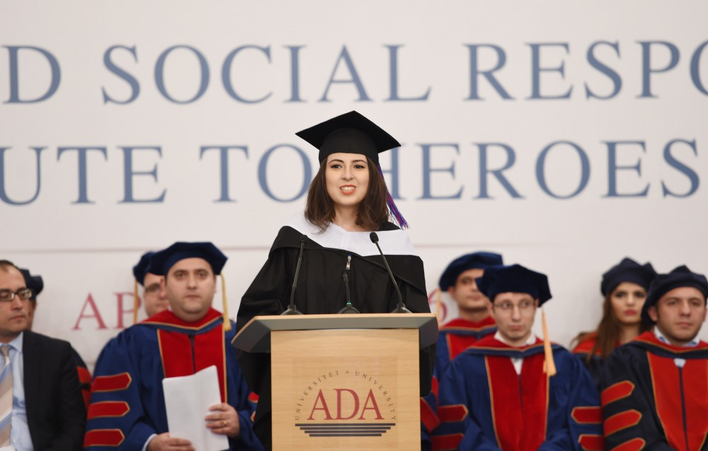 ADA University Commencement ceremony held