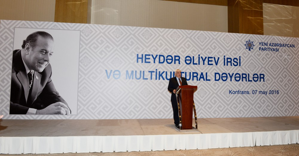 "Baku hosts ""Heydar Aliyev legacy and multicultural values"" conference"