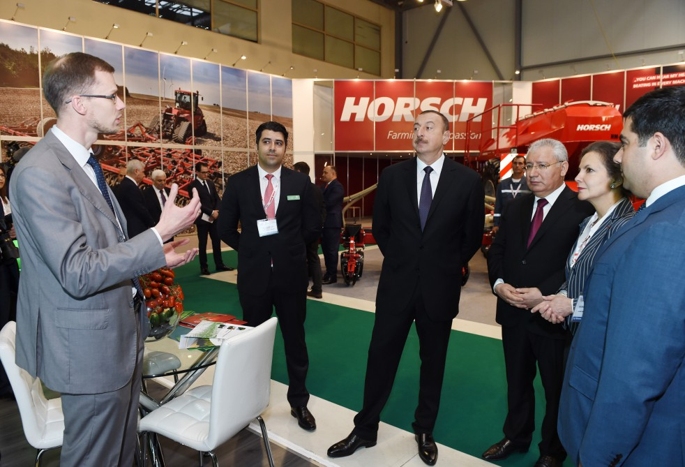 President Ilham Aliyev visited Azerbaijan International Food Industry Exhibition and Azerbaijan International Agriculture Exhibition VIDEO