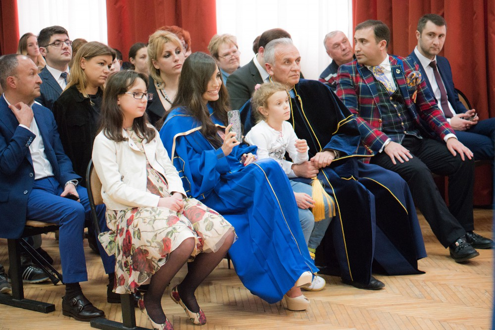 Leyla Aliyeva receives diploma of Honorary Professor of Moscow State University VIDEO