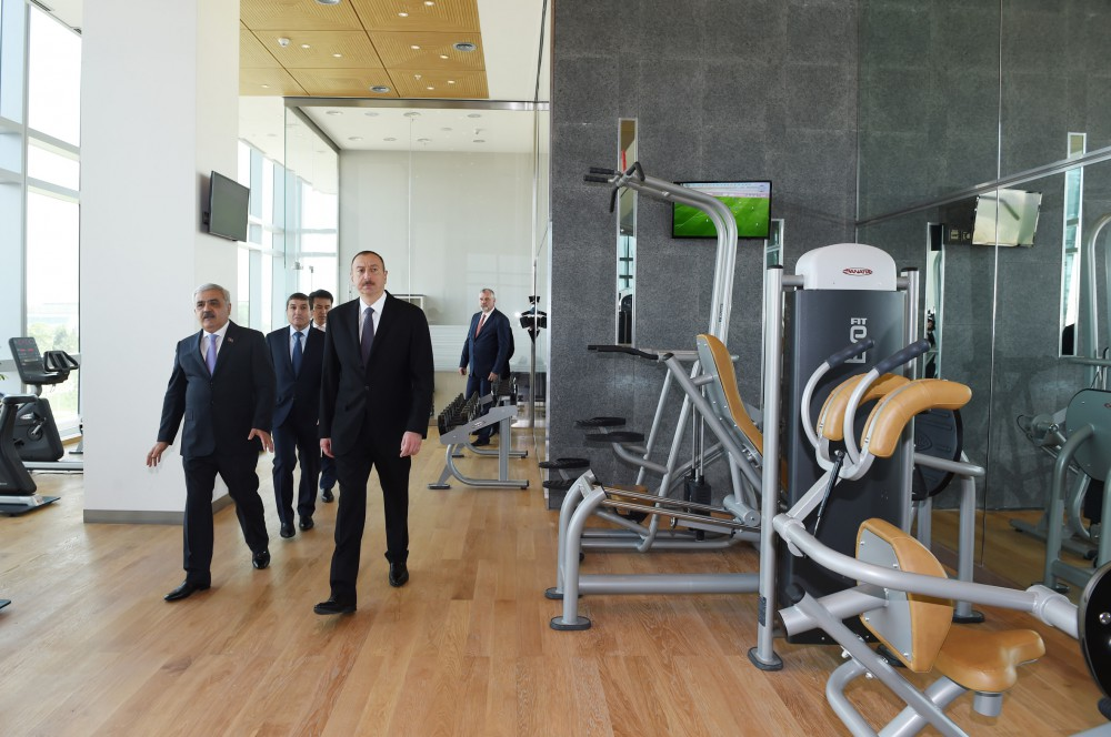 President Ilham Aliyev attended opening of new administrative building of State Oil Company VIDEO