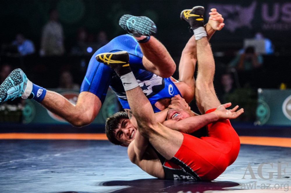 Azerbaijani freestyle wrestlers rank 5th at World Cup